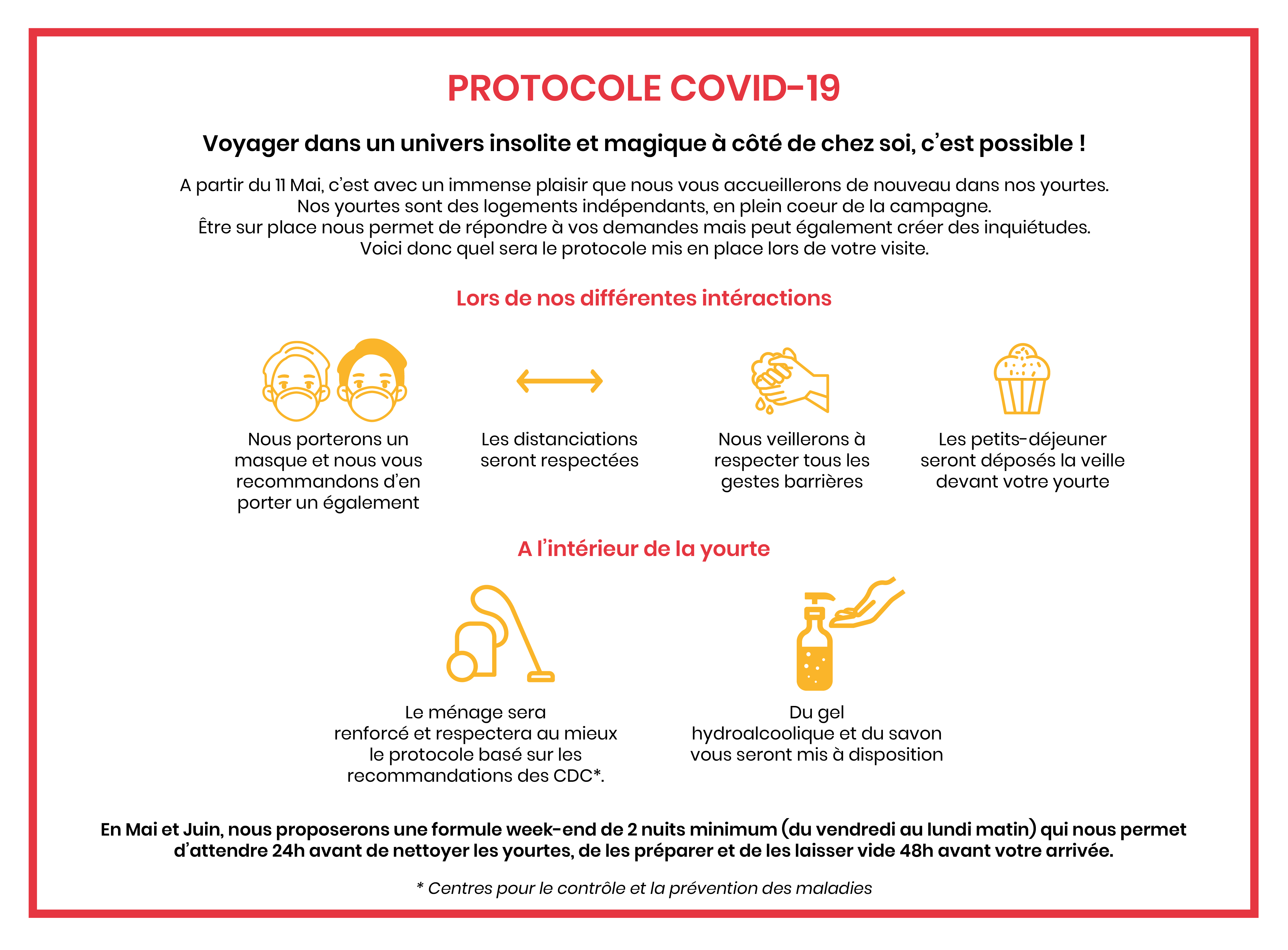 Protocole Covid 19